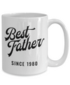 Best Father Since 1980 - 15oz Mug