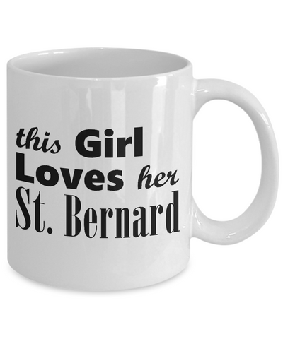 St. Bernard - 11oz Mug - Unique Gifts Store