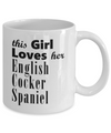 English Cocker Spaniel - 11oz Mug - Unique Gifts Store