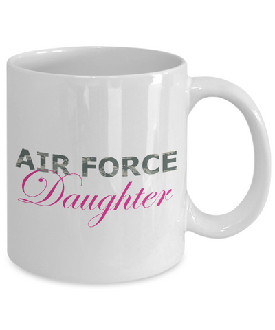 Air Force Daughter - 11oz Mug - Unique Gifts Store