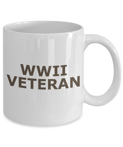 WWII Veteran - 11oz Mug - Unique Gifts Store