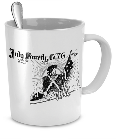 July Fourth 1776 - 11oz Mug - Unique Gifts Store