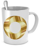 Golden Torus Screw - 11oz Mug - Unique Gifts Store