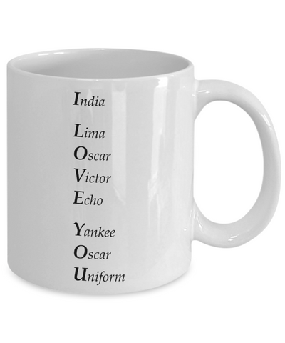 I Love You - 11oz Mug
