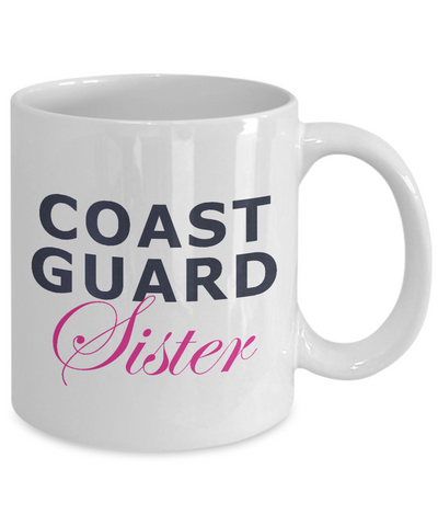 Coast Guard Sister - 11oz Mug - Unique Gifts Store