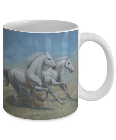 Running Horses - 11oz Mug - Unique Gifts Store