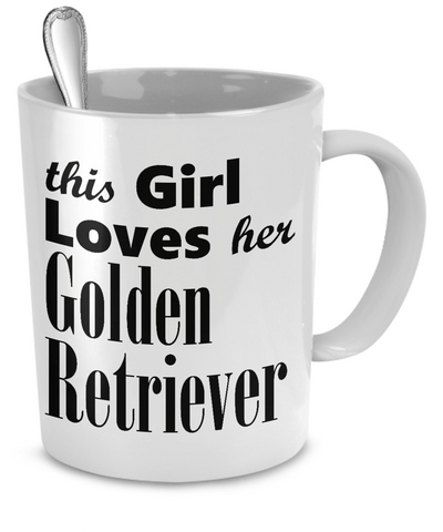 Golden Retriever - Mug - Unique Gifts Store - 1