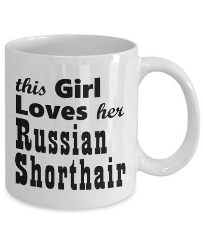 Russian Shorthair - 11oz Mug
