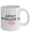 Army Ranger's Wife - 11oz Mug - Unique Gifts Store
