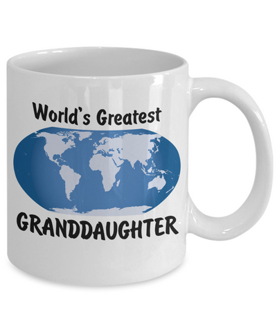 World's Greatest Granddaughter - 11oz Mug - Unique Gifts Store