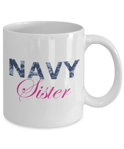 Navy Sister - 11oz Mug - Unique Gifts Store