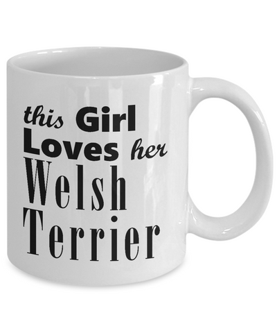 Welsh Terrier - 11oz Mug - Unique Gifts Store