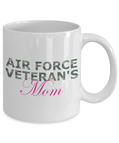 Air Force Veteran's Mom - 11oz Mug - Unique Gifts Store