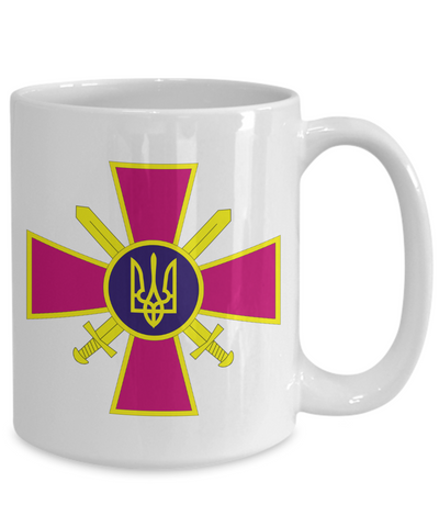 Ukrainian Ground Forces - 15oz Mug