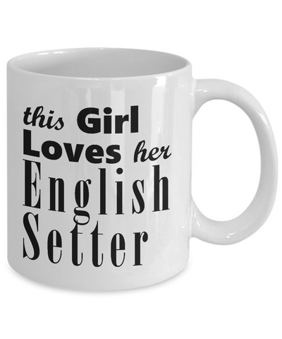 English Setter - 11oz Mug - Unique Gifts Store