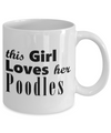 Poodles - 11oz Mug - Unique Gifts Store