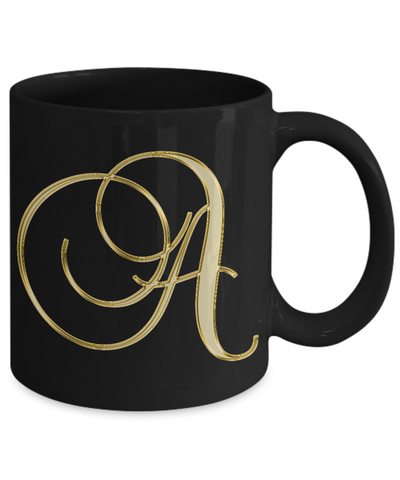 Initial A - 11oz Mug - Unique Gifts Store