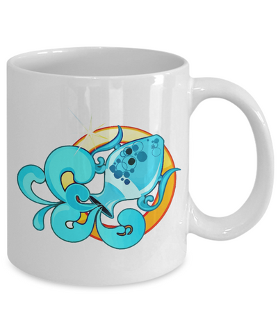 Zodiac Sign Aquarius - 11oz Mug