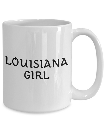 Louisiana Girl - 15oz Mug