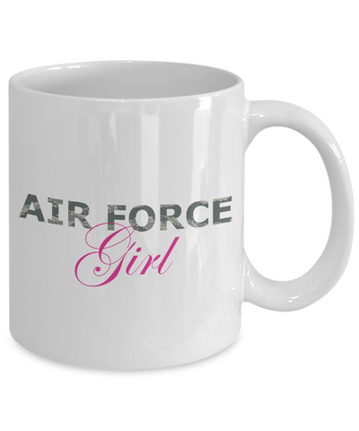 Air Force Girl - 11oz Mug