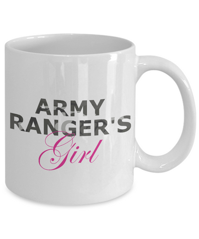 Army Ranger's Girl - 11oz Mug
