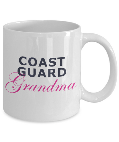 Coast Guard Grandma - 11oz Mug - Unique Gifts Store