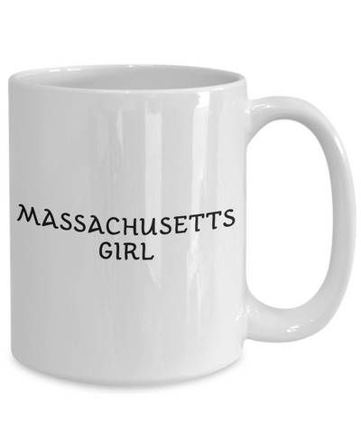 Massachusetts Girl - 15oz Mug