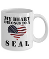 My Heart Belongs To a SEAL - 11oz Mug - Unique Gifts Store