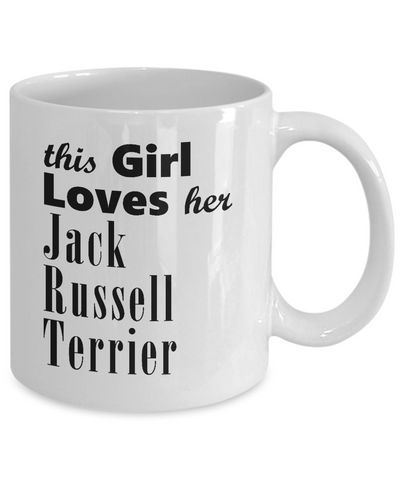 Jack Russell Terrier - 11oz Mug - Unique Gifts Store