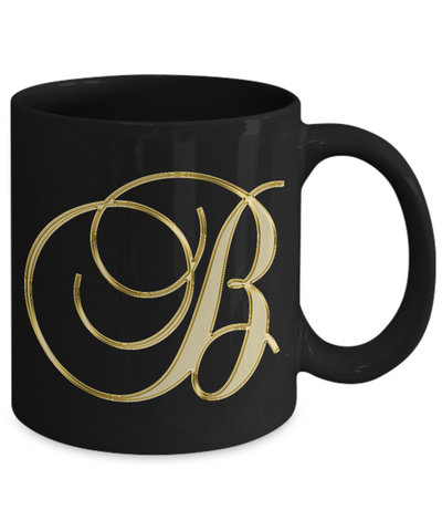 Initial B - 11oz Mug - Unique Gifts Store