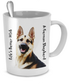 It's Better With A German Shepherd - 11oz Mug - Unique Gifts Store