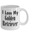 Love My Golden Retriever - 11oz Mug - Unique Gifts Store