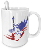 4th of July - 15oz Mug
