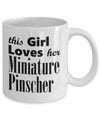 Miniature Pinscher - 11oz Mug - Unique Gifts Store