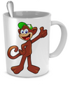 Monkey - 11oz Mug - Unique Gifts Store