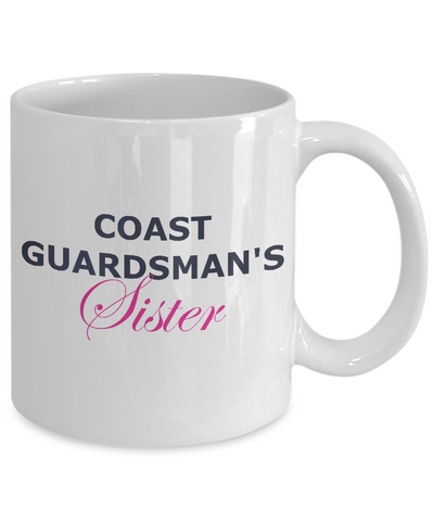 Coast Guardsman's Sister - 11oz Mug - Unique Gifts Store