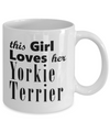 Yorkie Terrier - 11oz Mug - Unique Gifts Store