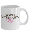 WWII Veteran's Wife - 11oz Mug - Unique Gifts Store