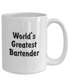 World's Greatest Bartender v2 - 15oz Mug