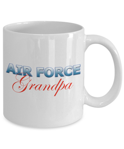 Air Force Grandpa - 11oz Mug v2 - Unique Gifts Store