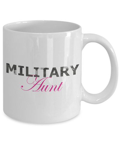 Military Aunt - 11oz Mug - Unique Gifts Store