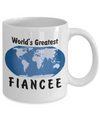 World's Greatest Fiancee - 11oz Mug - Unique Gifts Store