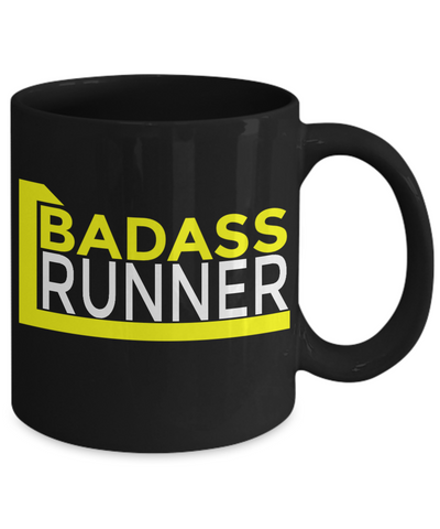 Badass Runner - 11oz Mug - Unique Gifts Store