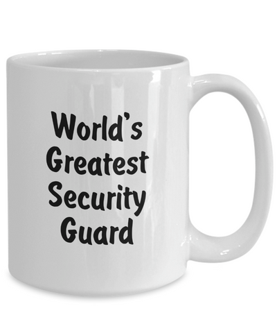 World's Greatest Security Guard v2 - 15oz Mug