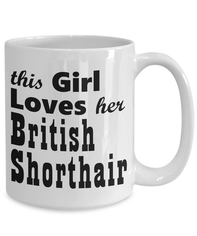 British Shorthair - 15oz Mug