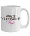 WWII Veteran's Wife - 15oz Mug