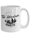 Adventure Awaits - 15oz Mug