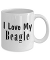 Love My Beagle - 11oz Mug - Unique Gifts Store