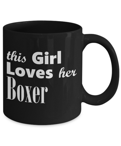 Boxer - 11oz Mug v3 - Unique Gifts Store