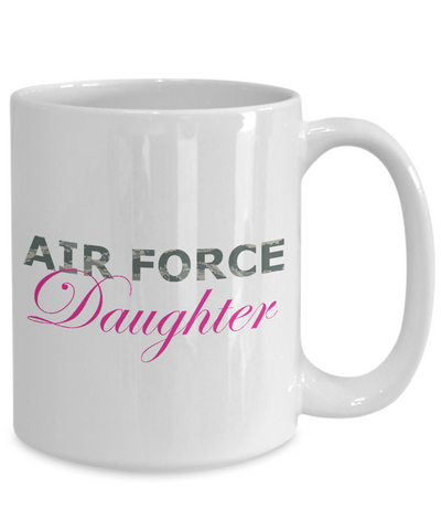 Air Force Daughter - 15oz Mug